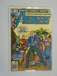 Avengers #201 Newsstand edition 4.0 VG (1980 1st Series)