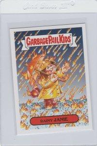 Garbage Pail Kids Rainy Janie 8b GPK 2017 Adam Geddon trading card sticker