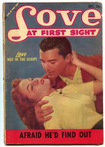 Love at First Sight #25 1953- Ace Romance Comic- VG