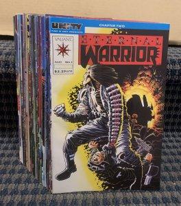 ETERNAL WARRIOR Comics (Lot of 44) Modern, Valiant Various Issues (C1080)