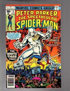 PETER PARKER 9 FINE  Aug. 1977