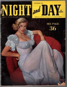 Night and Day 11/1954-Anita Ekberg-cheesecke-exploitation-Marla English-G/VG