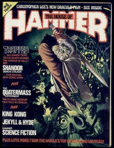 HOUSE OF HAMMER#8-Quatermass,King Kong 1977 F-VF glossy
