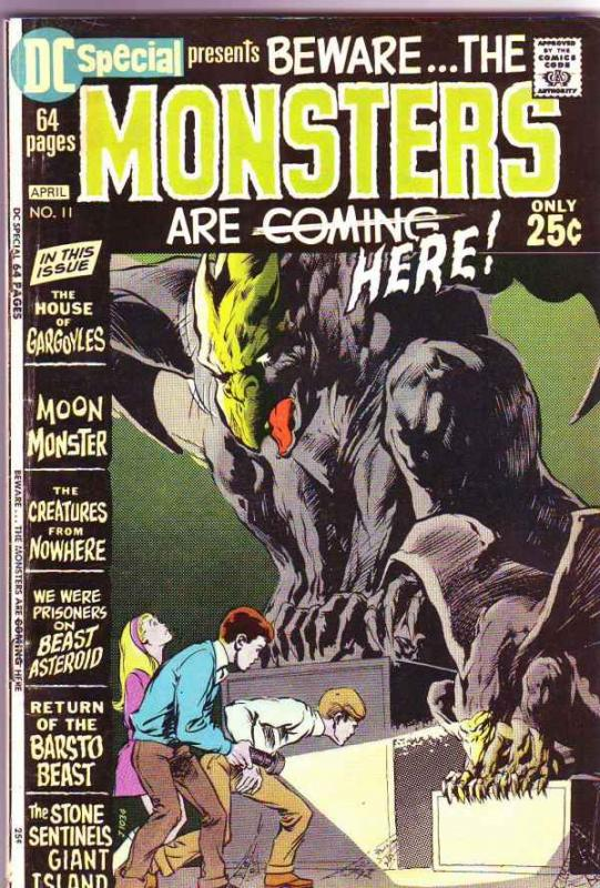 DC Special #11 (Apr-71) FN- Mid-Grade Cain