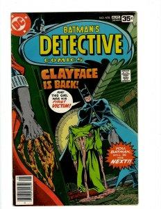 Detective Comics # 478 VF- DC Comic Book Batman Robin Joker Catwoman SR1