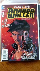 Suicide Squad: Amanda Waller #1 (DC, 2014) Condition: NM/Mint