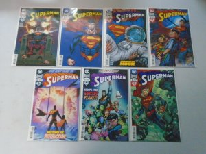 Superman lot 13 from #36-45 with variants 8.0 VF (2018 4th Series)