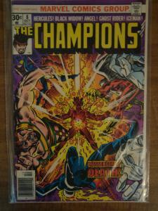 Marvel Comics The Champions #8 Hercules, Black Widow, Ghost Rider VF
