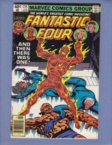 Fantastic Four #214 VG/FN Marvel 1980