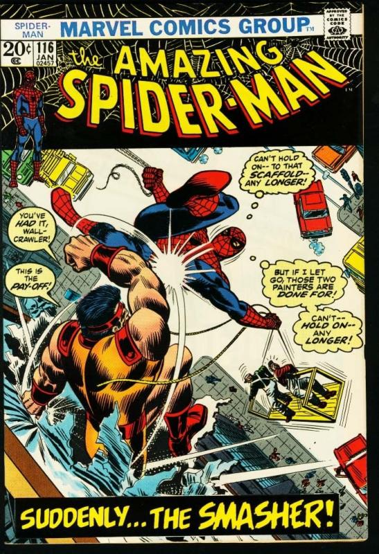 AMAZING SPIDER-MAN #116-MARVEL COMICS-DOCTOR OCTOPUS-fine condition FN