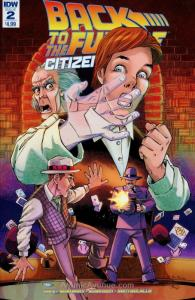 Back To The Future: Citizen Brown #2 VF/NM; IDW | save on shipping - details ins