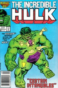 Incredible Hulk, The #323 (Newsstand) VG; Marvel | low grade comic - save on shi