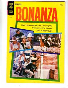 Bonanza #13 (Apr-65) VF High-Grade Lorne Green, Michael Landon, Dan Blocker