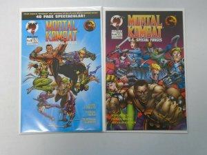 Mortal Kombat U.S. Special Forces Set: #1-2 8.0 VF (1995)