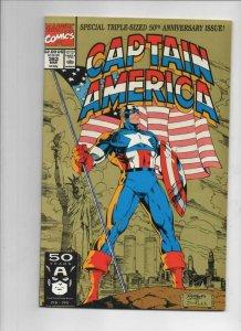 CAPTAIN AMERICA #383, VF/NM, 50th Anniversary 1968 1991, more CA in store