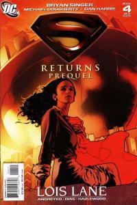 Superman Returns: Prequel #4, NM + (Stock photo)