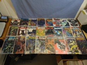 DC Comics Batman Vol 1 Lot 49 Issues Nice Runs No Man's Land Knightfall & More!!