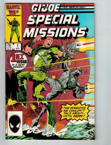 GI Joe Special Missions # 1 VF Marvel Comic Book Spidey Face Variant Movie S98