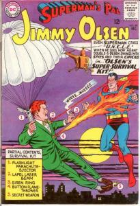 JIMMY OLSEN 89 VG Dec. 1965 COMICS BOOK