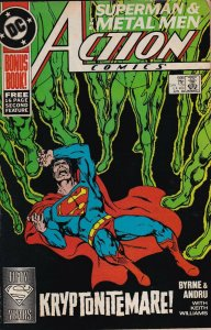 DC Comics! Action Comics! Issue 599!