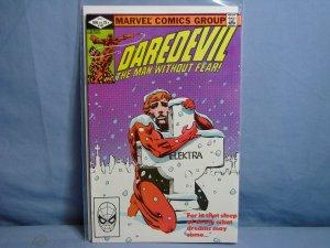 DAREDEVIL #182 Marvel Comics 1982 AUTOGRAPHED FRANK MILLER OLD SCHOOL L@@K!!