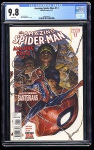 Amazing Spider-Man (2016) #1.1 CGC NM/M 9.8 White Pages