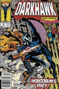 Darkhawk #2 (Newsstand) VF/NM; Marvel   save on shipping - details inside