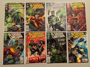 Green Lantern lot #106-174 2nd Series all 18 diff books avg 8.0 VF (1998-2004)
