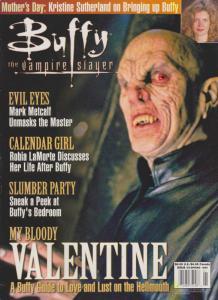 Buffy The Vampire Slayer Official Magazine #3 VF; MVP | save on shipping - detai