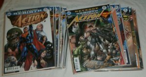 Action Comics #957-1000 (no 975) Jurgens Superman Rebirth Lex, comics lot of 43