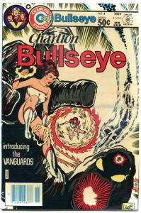 CHARLTON BULLSEYE #4, VF/NM, VanGuards, 1981, more Charlton in store