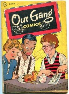 OUR GANG #29 1946-DELL COMICS-BUCKWHEAT-CARL BARKS ART VG