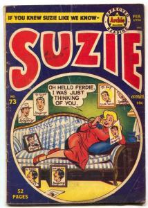 Suzie #73 1950-Archie comics-GINGER-KATY KEENE- G-