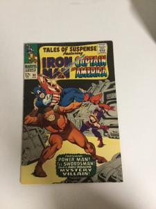 Tales Of Suspense 88 Fn/Vf Fine/Very Fine 7.0 Iron Man Captain America