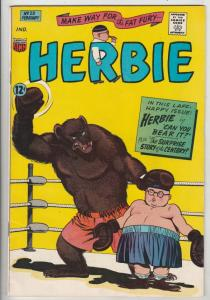 Herbie #23 (Feb-67) VF High-Grade Herbie Popnecker