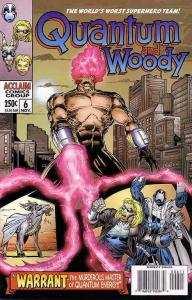 Quantum And Woody #6 VF/NM; Acclaim | save on shipping - details inside