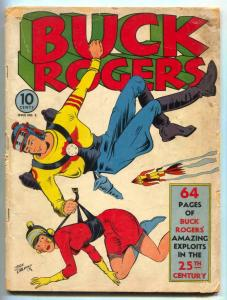 Buck Rogers #2 1941- Rare golden age comic- Famous Funnies