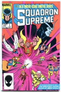 SQUADRON SUPREME #1-HIGH GRADE MARVEL VF/NM