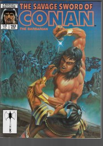 Savage Sword of Conan #163 (Marvel, 1989)