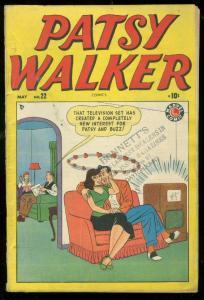 PATSY WALKER #22 1949-MARVEL COMICS- VG
