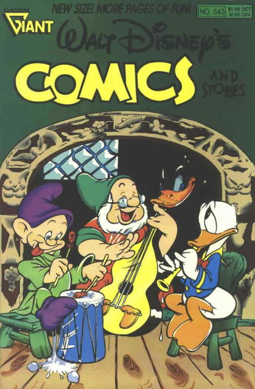 Walt Disney's Comics and Stories #543 FN; Dell | save on shipping - details insi