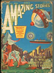 AMAZING STORIES DECEMBER 1926-H.G.WELLS-FR
