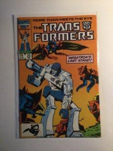 Transformers 25 Very fine vf 8.0 Marvel