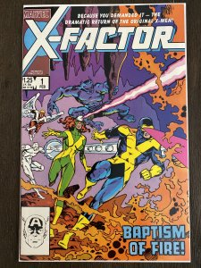 X-Factor 1 9.2 NM or better Feb 1985