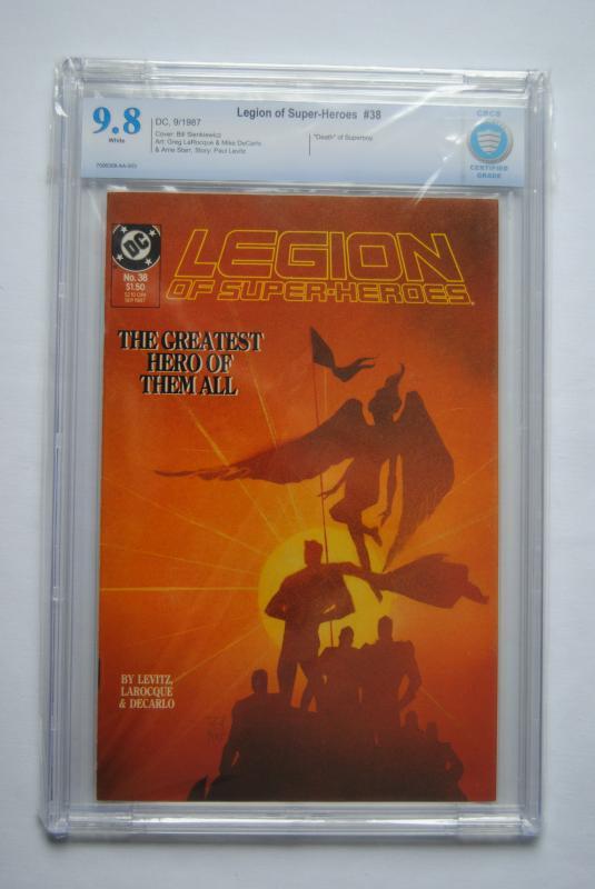 Legion Of Super-Heroes no 38 9.8