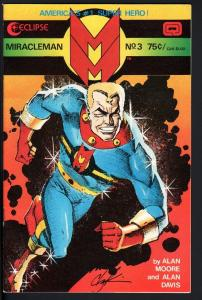 MIRACLEMAN #3-1985-ECLIPSE-COPPER AGE-NICE COPY-HIGH GRADE-NM