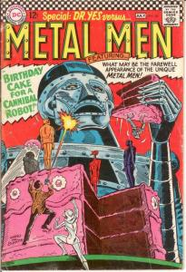 METAL MEN 20 G-VG July 1966 COMICS BOOK