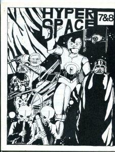 Hyper Space #7 & 8 1978-  Early Star Wars Fanzine Fan Fiction last issue VF