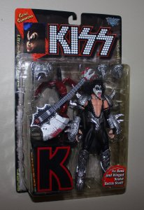 Kiss Ultra Action Figures (set of 4)  McFarlane Toys 1997
