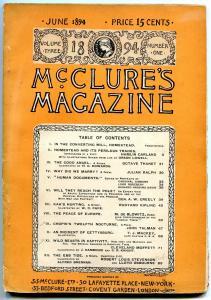 McClures Magazine June 1894- Rudyard Kipling- Kaas Hunting poor